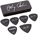 Jim Dunlop JCPT03M Johnny Cash Signature Medium Pick Tin