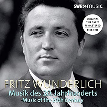 Fritz Wunderlich: Arias from the 20th Century (Live)