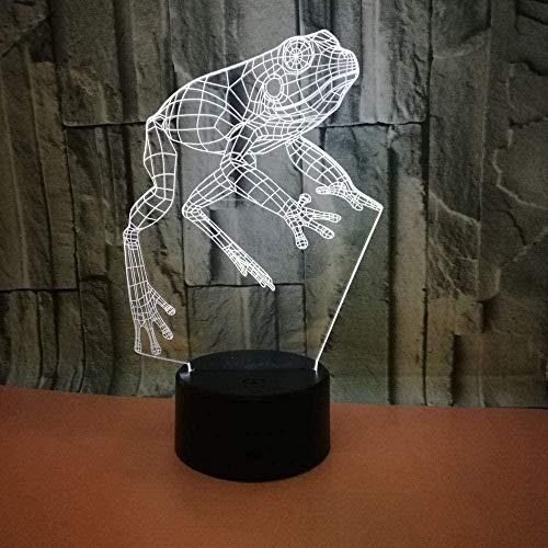 OUUED Hammer 3D Led Night Light Colorful Touch Control remoto 3D Regalo creativo Lámpara de mesa con luz visual para niños Noche Navidad Cumpleaños Día de San Valentín Reg