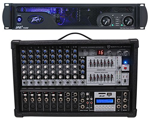 Peavey IPR2 7500 - Amplificador de Potencia de 2 Canais