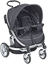 Valco Baby Ion Twin Stroller - Raven