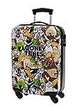 Warner Looney Tunes Equipaje de Mano, 35 Litros, Color Gris