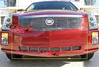 APS Compatible with 2005-2009 Cadillac SRX Replacement Billet Grille Inserts Combo S18-A03878A