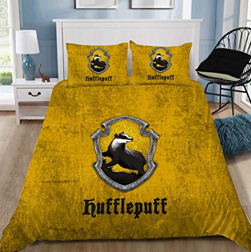 ysldtty Fashion Potter 3D Bedding Set Printed Duvet Cover Set Queen King Twin Size 200cm x 200cm
