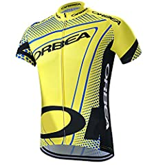 Design for cycling or racing outdoor sports. High quality Moisture Wicking Fabric with good function for keeping drying and cooling,allowing for a comfortable ride. Elastic hem with gel gripper,make sure the jerseys tight and never move when cycling....