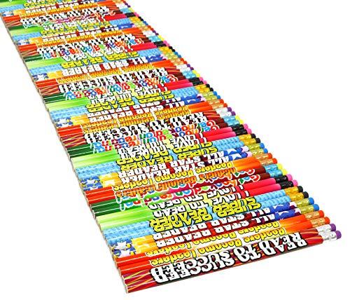 Motivational Pencils For Students Readers Pencil Assortment For Classroom Rewards I Love To Read Pencil Party Favors - Bulk School Supplies Pencils 144