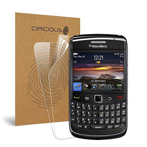 Celicious Protector de Pantalla Transparente Vivid para Blackberry Bold 9780 – [Lote de 2]