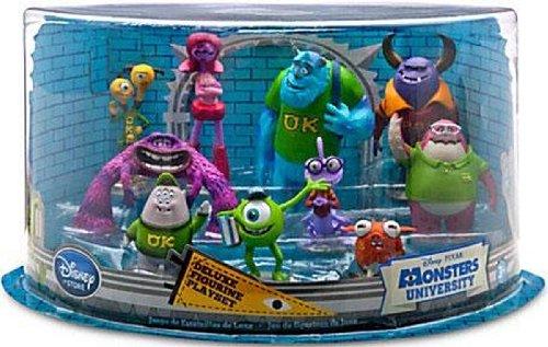 Disney Monster Uni Deluxe 10 Figuren Set