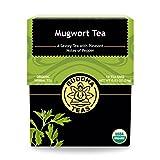 Organic Mugwort Tea, 18 Bleach-Free Tea Bags – Organic Tea Improves...