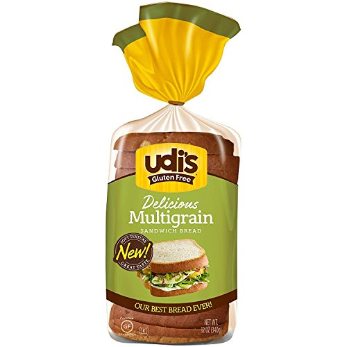 Udis Glutenfree Whole Grain Bread