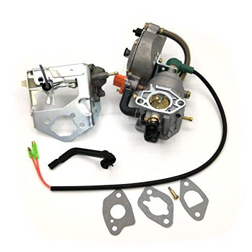 Shioshen auto starter kit carburatore valvola ammortizzatore staffa guarnizione per Honda GX390188F 190F motore a benzina motore GPL/Metano/