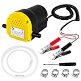 Best Oil Extractors - Oil Change Pump Extractor 12v 60W Motor Oil Review