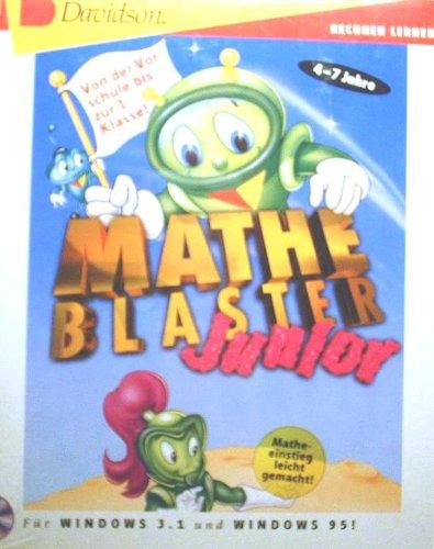 Mathe-Blaster Junior, 1 CD-ROMRechnen lernen. Von der Vorschule bis zur 1. Klasse. Für Windows 3.1x/95