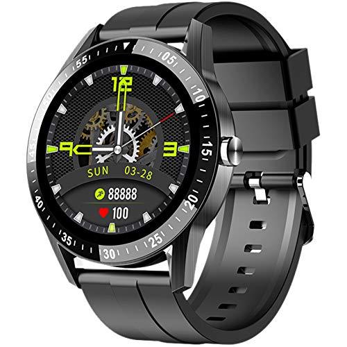 Relojes Inteligentes Hombre Smartwatch Llamada Bluetooth con Pulsómetro,Podómetro,Monitor de Sueño, Pulsera de Actividad,Smartwatch Inteligentes Hombre para iOS y Android