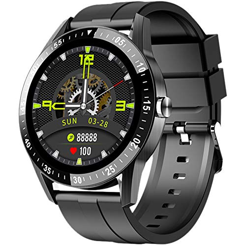 Orologi Intelligenti Uomo Smartwatch Chiamata Bluetooth con Cardiofrequenzimetro, Pedometro, Monitor del Sonno, Braccialetto di Attività, Smartwatch Uomo per iOS e Android