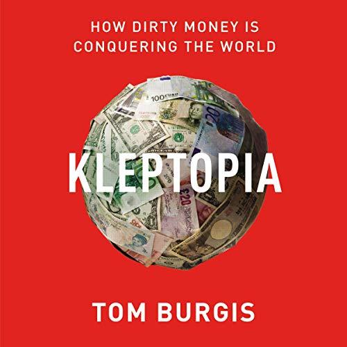 Kleptopia audiobook cover art