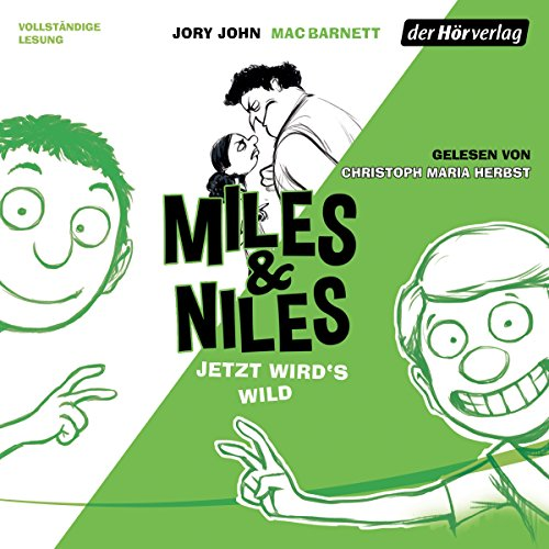 Jetzt wird's wild     Miles & Niles 3              By:                                                                                                                                 Jory John,                                                                                        Mac Barnett                               Narrated by:                                                                                                                                 Christoph Maria Herbst                      Length: 3 hrs and 28 mins     Not rated yet     Overall 0.0