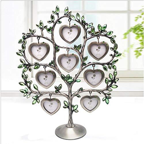 Banane - Marco de Fotos de árbol genealógico con 7 Marcos de Fotos para Colgar Fotos, diseño de árbol de la Felicidad, PF10790G