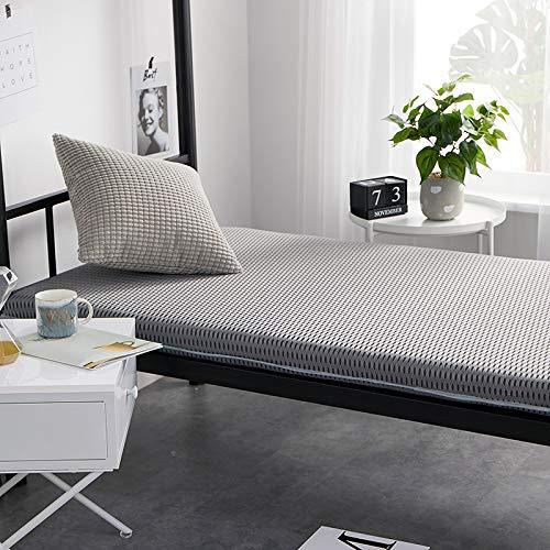 EVENEW Factory - Colchón de malla transpirable para estudiantes, 90 cm, colchón de dormitorio personalizado superior e inferior, litera plegable tatami, A, 120*200cm