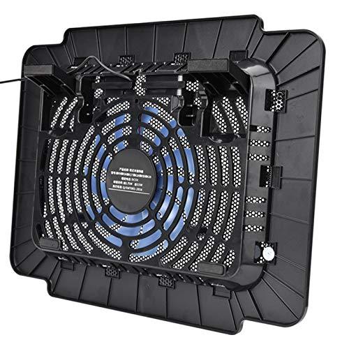 Shipenophy Enfriador de portátil Ventilador de refrigeración Soporte de radiador para portátil K16 Ordenador portátil para el hogar para Regalo para Hombres para Oficina