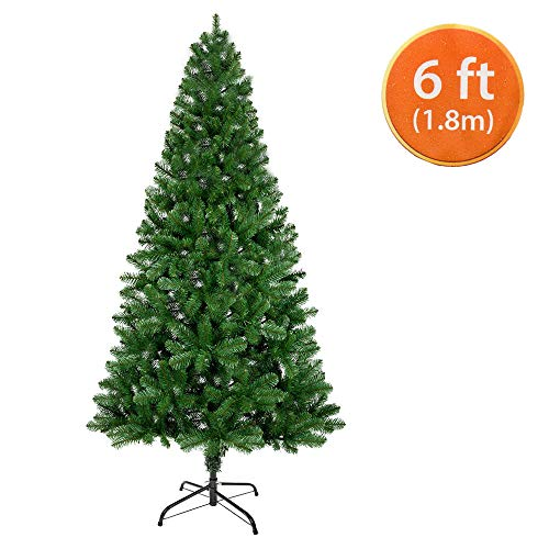 ANSIO Christmas Tree 6ft / 1.8m Artificial Trees 550...