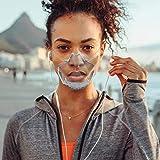 89AMZ 𝓜áscarillas de Plástico Reutilizable para Higiene Sanitaria, Un Escudo Transparente Alternativ...