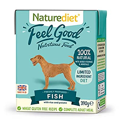 Naturediet Feel Good Fish Complete Wet Food 390g x 18
