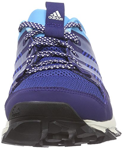adidas Kanadia 7 Trail, Zapatillas Mujer, Azul Marino/Blanco/Azul, 38