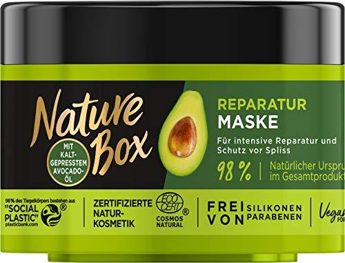 Nature Box Reparatur-Maske Avocado-Öl Kur, 200 ml