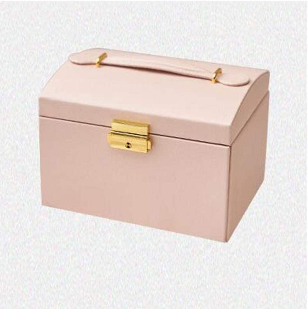 BAWAQAF Jewelry Box PU Leather 3 La OFFicial mail order Limited time for free shipping Layers Organizer