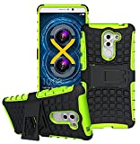 FoneExpert® Honor 6X Handy Tasche, Hülle Abdeckung Cover schutzhülle Tough Strong Rugged Shock Proof Heavy Duty Hülle Für Huawei Honor 6X / GR5 2017