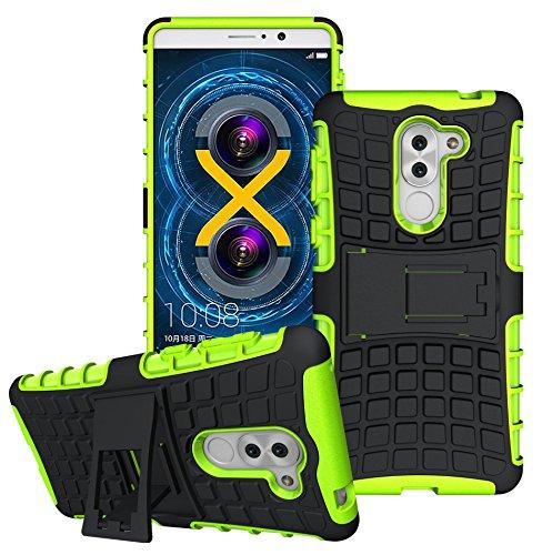 Honor 6X Handy Tasche, FoneExpert® Hülle Abdeckung Cover schutzhülle Tough Strong Rugged Shock Proof Heavy Duty Hülle Für Huawei Honor 6X / GR5 2017