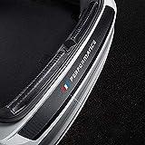 Coche Fibra de Carbono Protección para parachoques Trasero para BMW M E36 E34 F10 E90 F30 F20 X3 E53 E70 g30 E30 E36, Exterior Protector Antideslizante Antiarañazos Accesorios