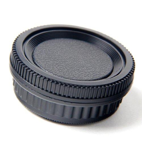Pentax K mount ペンタックス K マウント PK K20D K10D K200D K100 カメラ ボディ+リア レンズ キャップ