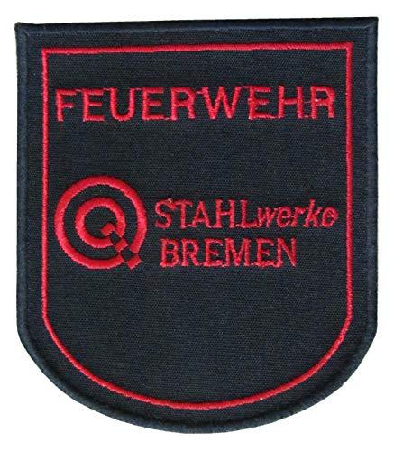 Werkfeuerwehr - Stahlwerke Bremen - Ärmelabzeichen - Abzeichen - Aufnäher - Patch - Motiv 1