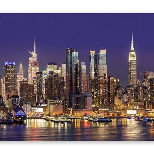murando - Fotomural 400x280 cm - Papel tejido-no tejido - Papel pintado - Ciudad City New York Manhattan Edificio Arquitectura d-B-0060-a-b