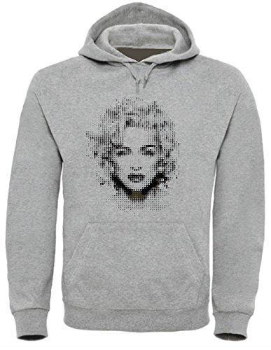 Madonna Funny Mens & Ladies/Herren & Damen Unisex Hooded Pullover (XL)