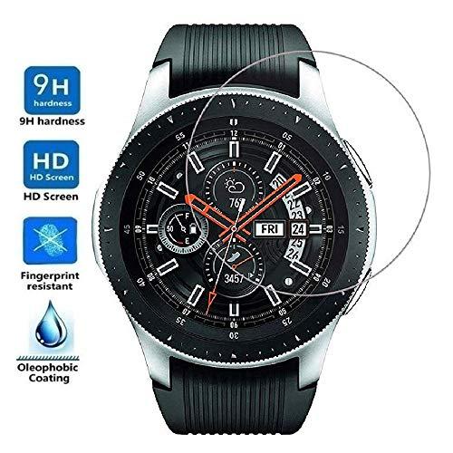 Protector de Pantalla para Samsung Galaxy Watch 46mm 2018, Cristal Vidrio...