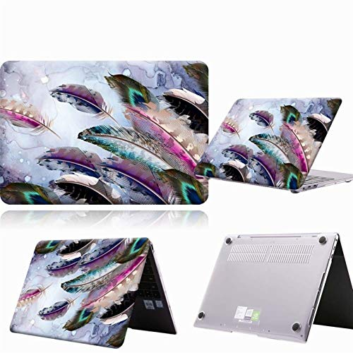 Yhuisen Multicolor Case Compatible with for HUAWEI MateBook D14 D15 2019 2020/14 /X Pro 13.9/Honor MagicBook 14/15 /Pro 16.1 Laptop Hard Cover (Color : A6, Size : Honor MagicBook 15)