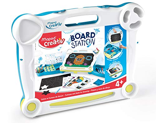 BOARD STATION Maleta dibujos borrables Maped Creativ (907025)