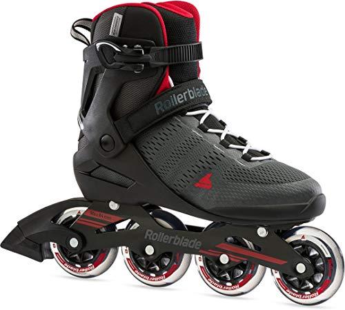 Rollerblade Spark 84 Inline Skate 2021 Dark Grey/red, 45