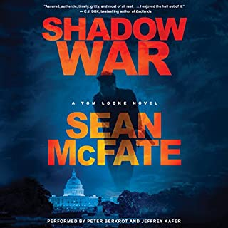 Shadow War audiobook cover art