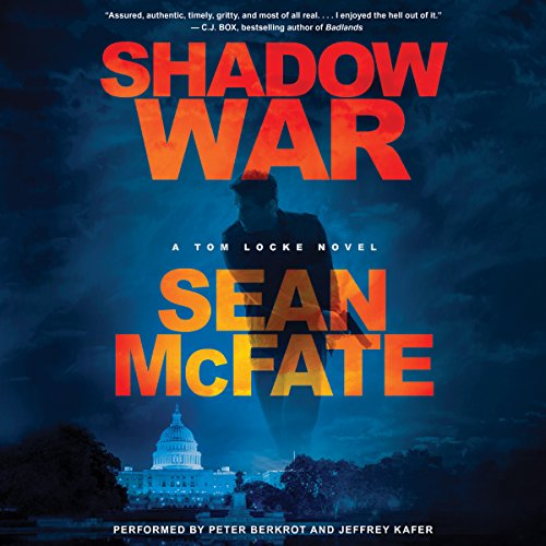 Shadow War audiobook cover art