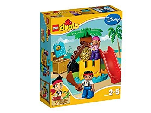 LEGO Duplo 10604 - Jake und die Nimmerland-Piraten, Schatzinsel