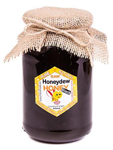 Miel de montagne. Miel noir. Le roi parmi les miels! Miel directement de l'apiculteur polonais. 1,25 kg. Miel de miellat conifere, pur. Miel de la Pologne
