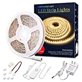 Best White Strips - LED Strip Lights Warm White, 16.4ft Dimmable LED Review
