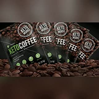 It Works Keto Coffee, 5 individual instant coffee packets