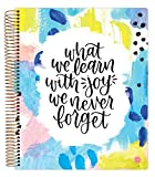 bloom daily planners Undated Academic Year Teacher Planner & Calendar - Lesson Plan Organizer Book (9' x 11') - Learn with Joy