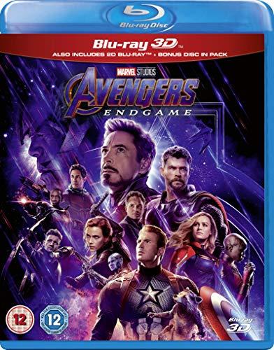 Avengers: Endgame [3D Blu-ray + Blu-ray]