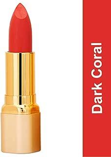 Color Fever Non Transfer Kiss Proof Matte Lipstick (Dark Coral) 4.2.gm